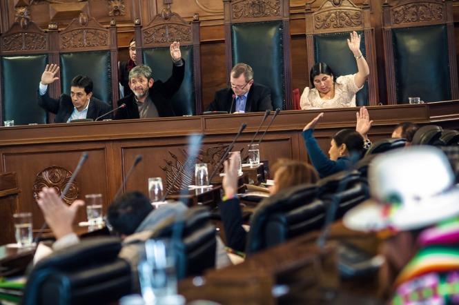 Sesión Ordinaria donde se aprobó la ley