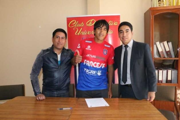 Ayer incorporó al mediocampista chuquisaqueño Edwin Rivera, que el pasado torneo militó en San José.