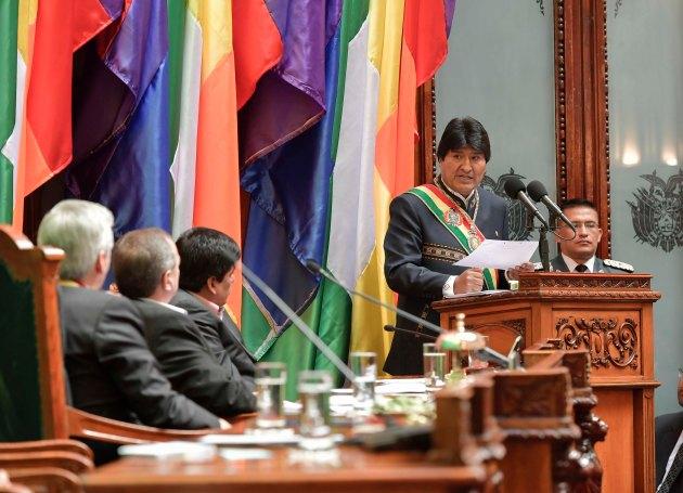 Presidente - Día del Estado Plurinacional de Bolivia